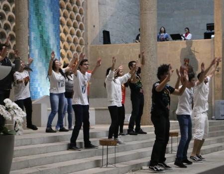 Missa com os Jovens celebra o mês vocacional
