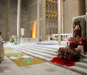 Sagrado Coração de Jesus e Imaculado Coração de Maria são celebrados com festa na Matriz São Luís Gonzaga