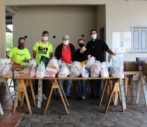Paróquia São Luís Gonzaga é contemplada com doações do Treino Solidário