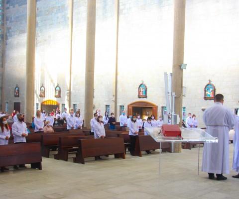 Missa de envio ministros extraordinários da Sagrada Comunhão