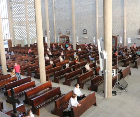 Reabertura da igreja Matriz