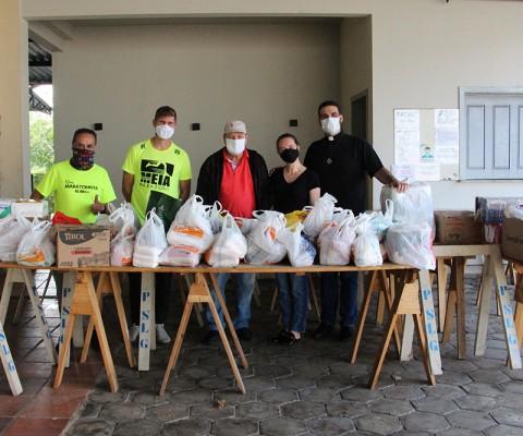 Doações Treino Solidário Grupo do Bay