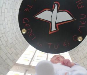 Paróquia São Luís Gonzaga retoma celebração do Batismo